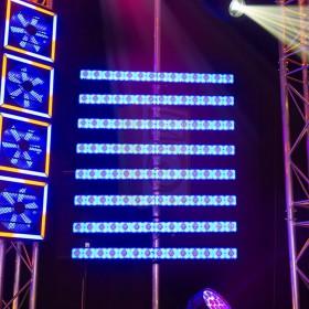 BeamZ LCB14 Hybride LED BAR Pixelbesturing - show blauw