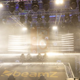 BeamZ LCB14 Hybride LED BAR Pixelbesturing - show blinder