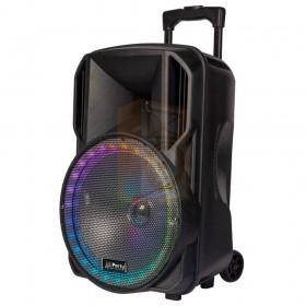 Party licht en sound PARTY-15RGB Draagbare luidspreker 15''/38cm met USB, BT en microfoon - rechts 2