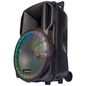 Party licht en sound PARTY-15RGB Draagbare luidspreker 15''/38cm met USB, BT en microfoon - rechts