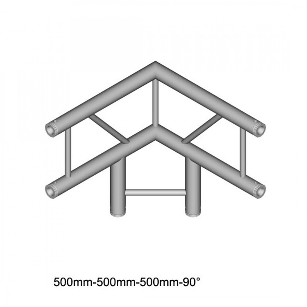 DuraTruss DT 32/2-C31V-LD90 - 3-voudige hoek 90 °, verticaal