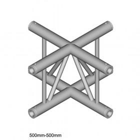 DuraTruss DT 32/2-C41VX - 4-weg-X-verbinding, verticaal