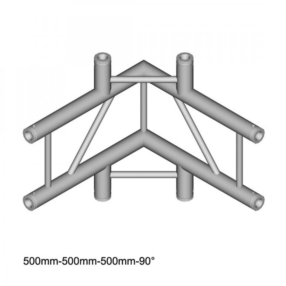 DuraTruss DT 32/2-C44V - 4-voudige hoek 90 °, verticaal