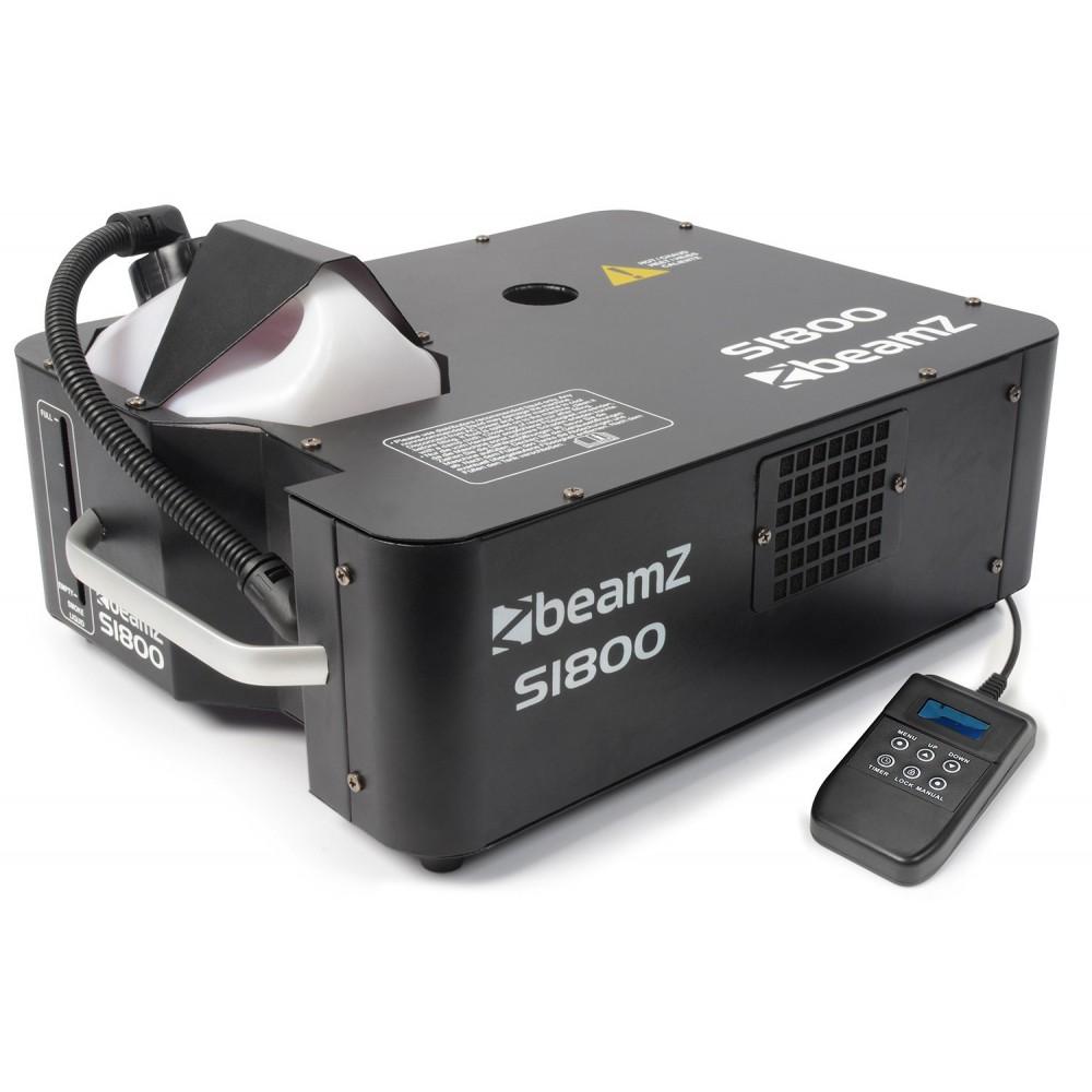 BeamZ S1800 Rookmachine DMX Horizontaal/Verticaal nieuwe verzie met uitgebreide timer