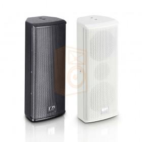 "LD Systems SAT 242 G2 2 x 4 ""passieve installatie luidspreker zwart of wit - overzicht"