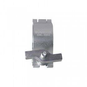 Equinox TC 50S PRO Aluminium 50kg Zilver Half Coupler met M10 Bout - sluiting