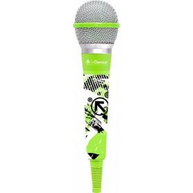IDance CLM1 Karaoke microfoon Groen/Grijs