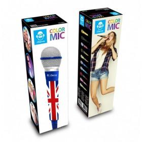 IDance CLM8 Karaoke microfoon UK/Blauw/Grijs - doos