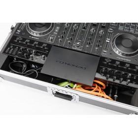 MAGMA DJ-controller case Prime 4 Flight case voor de Denon DJ Prime 4 - kabels opgeruimd