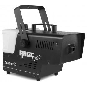 links voor - BeamZ Rage1000 Rookmachine met Draadloze afstandsbediening