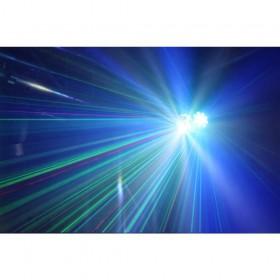 show 1 BeamZ Sway LED Jellyball met Laser en LED Organ