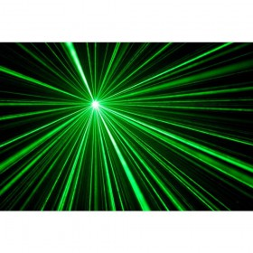 show 2 BeamZ Sway LED Jellyball met Laser en LED Organ