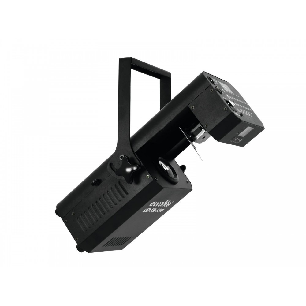 links voor - EUROLITE LED TSL-1200 Scan Professionele 120W COB LED scanner