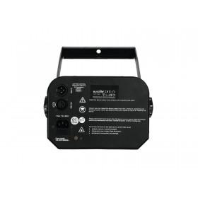 onderkant en aansluitingen - EUROLITE LED TSL-1200 Scan Professionele 120W COB LED scanner