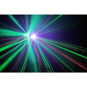 show 4 BeamZ Sway LED Jellyball met Laser en LED Organ