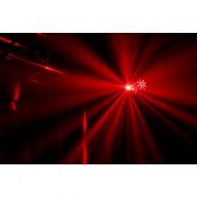 show 5 BeamZ Sway LED Jellyball met Laser en LED Organ