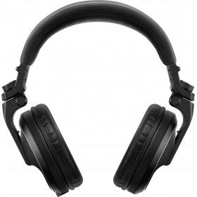 achterkant Pioneer HDJ-X5-K over-ear DJ-hoofdtelefoon