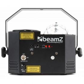 achterkant BeamZ Sway LED Jellyball met Laser en LED Organ