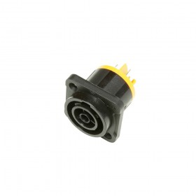 boven - Adam Hall 7928 Power Out apparaatconnector van maximaal 16 A