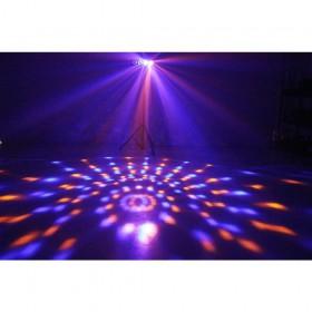 BeamZ DJ Bank BX 4x 3W RGBA LED's IR - effect 1