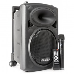 "Fenton FPS10 Portable Sound System 10"" BT/VHF/IRC"