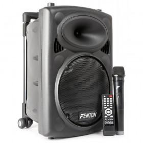 "Fenton FPS10 Portable Sound System 10"" BT/VHF/IRC"