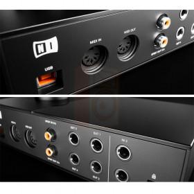 aansluitingen achterkant Native Instruments KOMPLETE AUDIO 6 MK2 - Pro studio geluidskaart