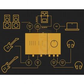 aansluitmogelijkheden Native Instruments KOMPLETE AUDIO 6 MK2 - Pro studio geluidskaart