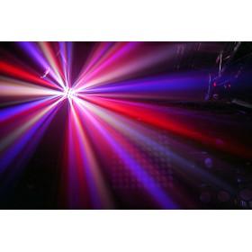 show 2 BeamZ Butterfly II LED Mini derby lichteffect