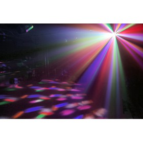 show 3 BeamZ Butterfly II LED Mini derby lichteffect