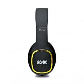zijkant IDance Black 100GD ACDC koptelefoon