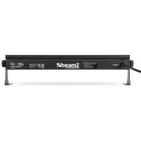 achterkant BeamZ BUV93 LED Bar 8x3W UV