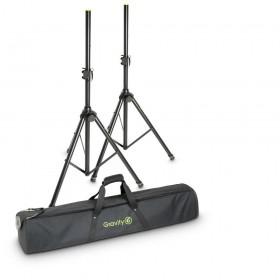 B-Stock Gravity SS 5211 B SET 1 - Set van 2 Speaker Standaards met tas