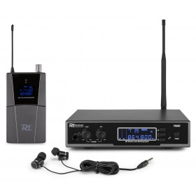 complete set Power Dynamics PD800 In Ear Monitoring Systeem UHF