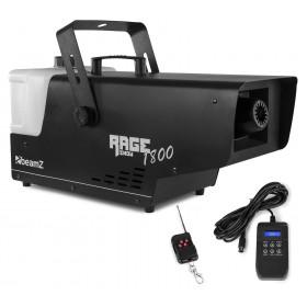 BeamZ Rage 1800 - sneeuwmachine met timer controller en Draadloze afstandsbediening