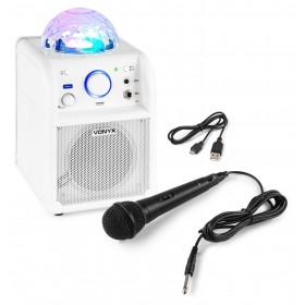 VONYX SBS50W - Bluetooth Party Speaker met microfoon Wit