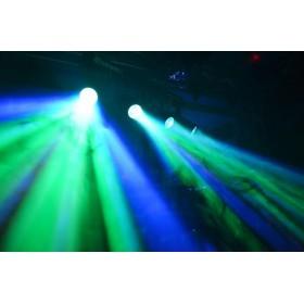 BeamZ 4-Some Lichtset 4x 57 RGBW LED's DMX effect foto