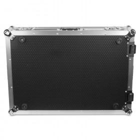 onderkant UDG U92069SL - Ultieme flightcase voor Denon DJ Prime 4 Silver Plus (wielen)