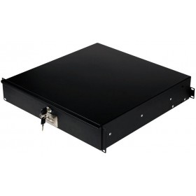 JV Case Rack Drawer 2U - Lade voor in een flightcase van 88mm hoog