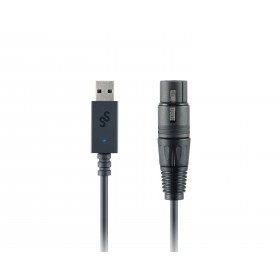 SoundSwitch Micro DMX Interface - Compacte eenvoudige lichtbestuuring Connectors