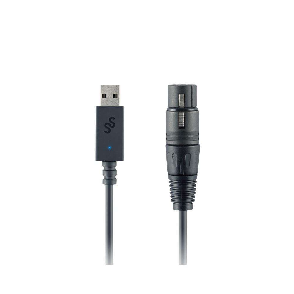 SoundSwitch Micro DMX Interface - Compacte eenvoudige lichtbesturing Connectors
