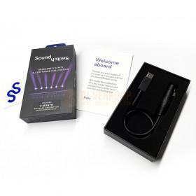 SoundSwitch Micro DMX Interface - Compacte eenvoudige lichtbesturing Doos en binnen kant.