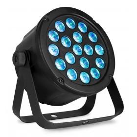 Voorkant blauw SlimPAR45 18x 3W 3-in-1 RGB LED's DMX