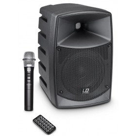 LD Systems ROADBUDDY 6 Portable speaker met Microfoon voorkant