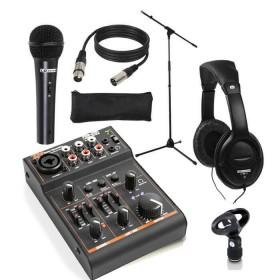 LD Systems LDMICSET1- Microfoon set met de HP500 hoofdtelefoon en PDM-D301 mixer