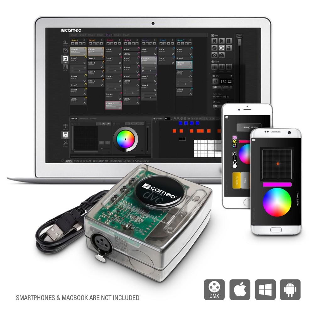 CLDVC Cameo DVC 4 - Dmx Interface en Software pakket