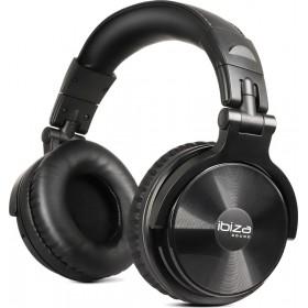 Koptelefoon Ibiza Sound DHJ250 - Opvouwbare Stereo DJ Hoofdtelefoon