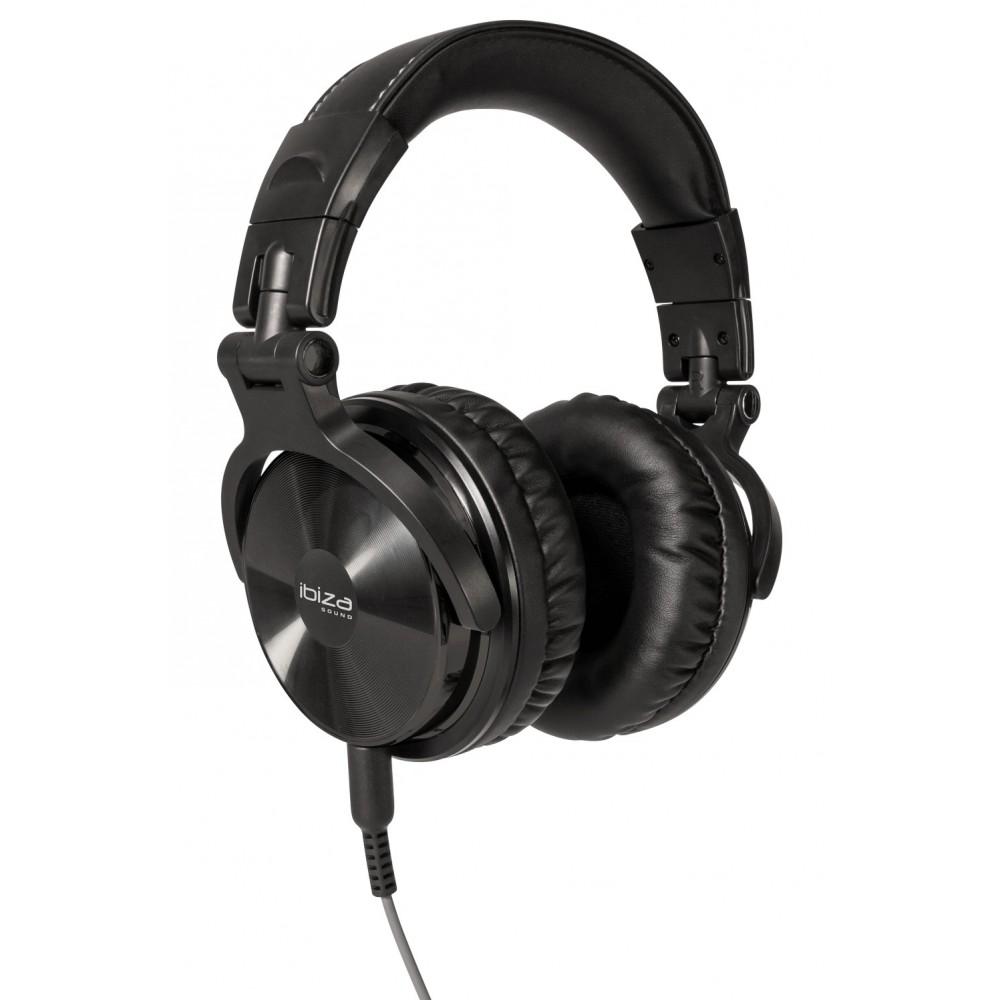Ibiza Sound DHJ250 - Opvouwbare Stereo DJ Hoofdtelefoon