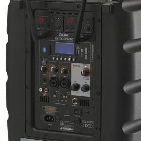 Achterkant AUDIOPHONY CR12A-COMBO - Batterijgevoed actief systeem