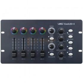Voorkant LEDJ EasiLED 4 - 4 kanalen LED DMX Controller